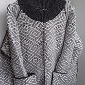 Одежда ручной работы. Ярмарка Мастеров - ручная работа Костюм вязаный (джемпер и юбка)   – «Парижанка». Handmade.