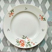 Винтаж handmade. Livemaster - original item Plates Konakovo 1956. Handmade.