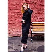 Одежда handmade. Livemaster - original item Dress knitted.Dress stylish.Dress bright.Dress for autumn, winter. Handmade.