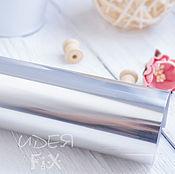 Зеркальн. серебро термотрансферная пленка,20х25см,33х25, 20х50, 33х50