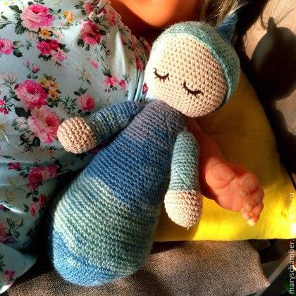 Игрушка для сна ребенка своими руками крючком 79