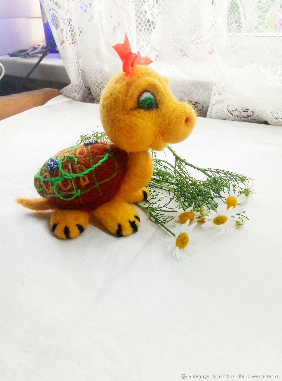 Черепашка Чапа, Войлочная игрушка, Кемерово,  Фото №1