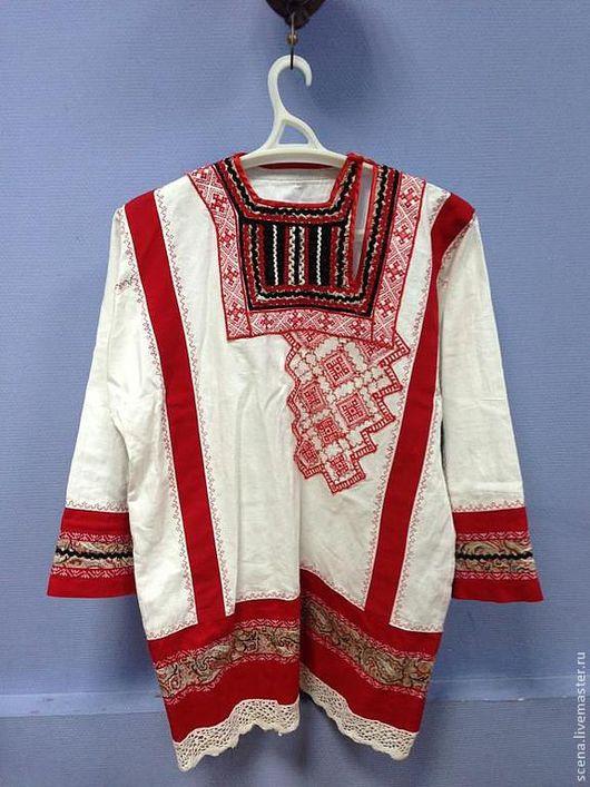 Одежда ручной работы. Ярмарка Мастеров - ручная работа. Купить Рубаха мужская. Handmade. Рубаха мужская, народная рубаха