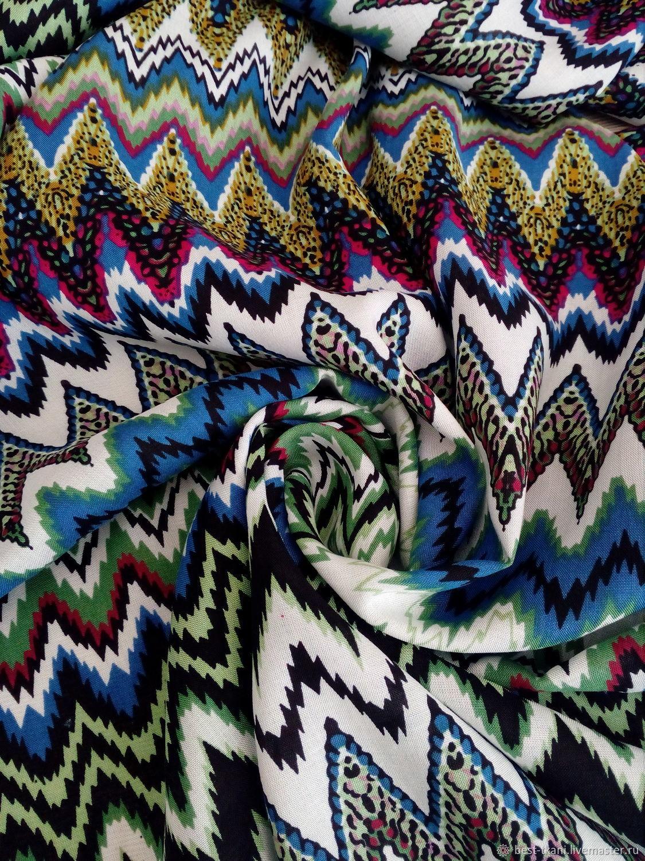 Итальянская ткань MISSONI Вискоза, Ткани, Новосибирск,  Фото №1