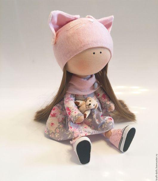 Куклы Тильды ручной работы. Ярмарка Мастеров - ручная работа. Купить Интерьерная кукла. Handmade. Бледно-розовый, кукларучнойработы, интерьернаякукла