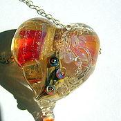Украшения handmade. Livemaster - original item Pendant - Heart.
