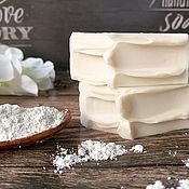 handmade. Livemaster - original item Soap natural White clay. Handmade.