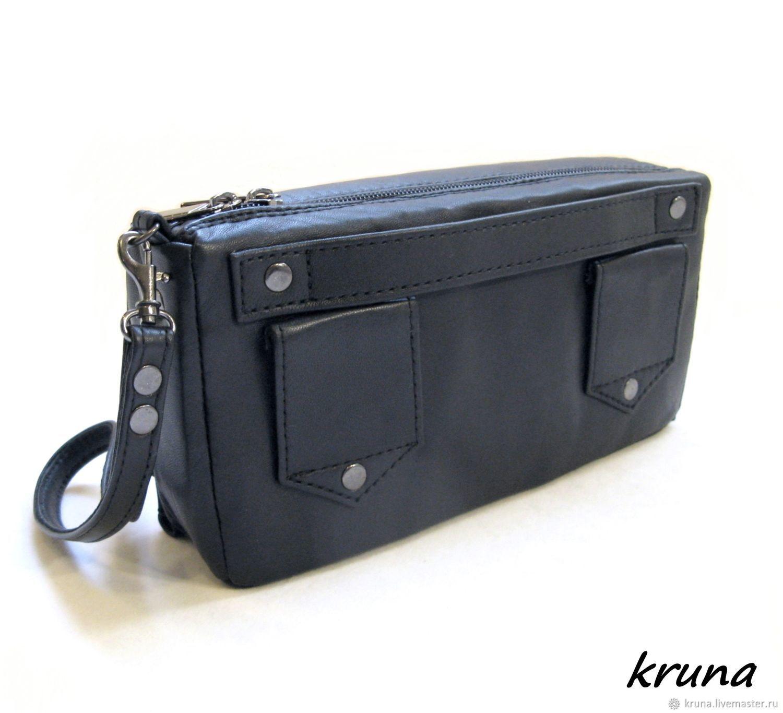 99ddd23d9c18 Купить Мужская поясная сумка- Мужские сумки ручной работы. Мужская поясная  сумка-клатч-портмоне-органайзер из натуральной ...
