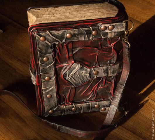 Женские сумки ручной работы. Ярмарка Мастеров - ручная работа. Купить Сумка-книга. Handmade. Комбинированный, кожа