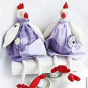 Куклы и игрушки ручной работы. Ярмарка Мастеров - ручная работа Курочки-хозяюшки Кася и Мила. Handmade.
