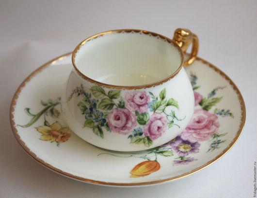 """Сервизы, чайные пары ручной работы. Ярмарка Мастеров - ручная работа. Купить Роспись фарфора. Чайная пара """"Лето"""". Handmade."""