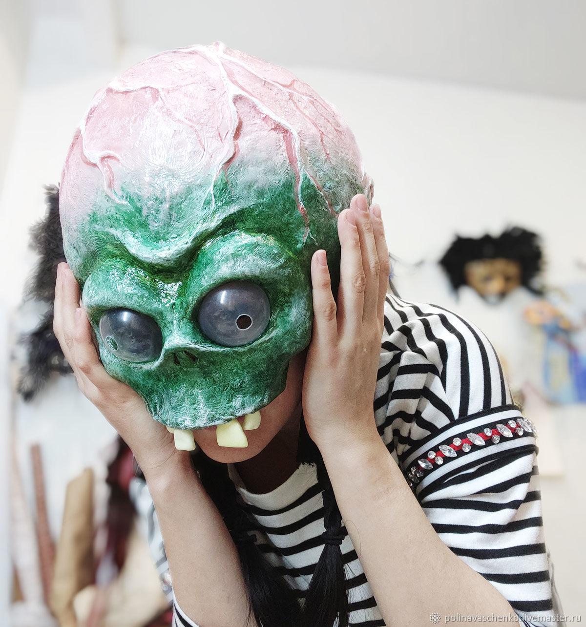 """Детская карнавальная маска """"Доктор Зомби"""" из игры, Костюмы, Санкт-Петербург,  Фото №1"""