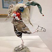Куклы и игрушки ручной работы. Ярмарка Мастеров - ручная работа Ангелочек на конечках. Handmade.