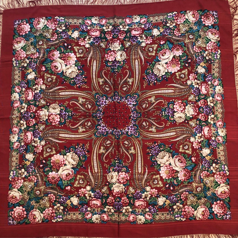 павлопосадский платок сорта