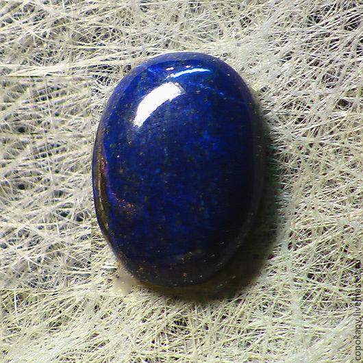 Для украшений ручной работы. Ярмарка Мастеров - ручная работа. Купить Лазурит кабошон(8438). Handmade. Тёмно-синий, лазурит