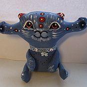 Куклы и игрушки ручной работы. Ярмарка Мастеров - ручная работа Лунный котик. Handmade.
