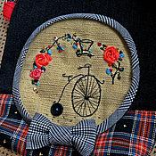 """Сумки и аксессуары ручной работы. Ярмарка Мастеров - ручная работа Сумка """"Велосипед Вивьенн"""". Handmade."""