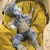Куклы Reborn ручной работы. Ярмарка Мастеров - ручная работа Тор, Полностью Силиконовая кукла детёныш гибридный реборн 45 см. Handmade.