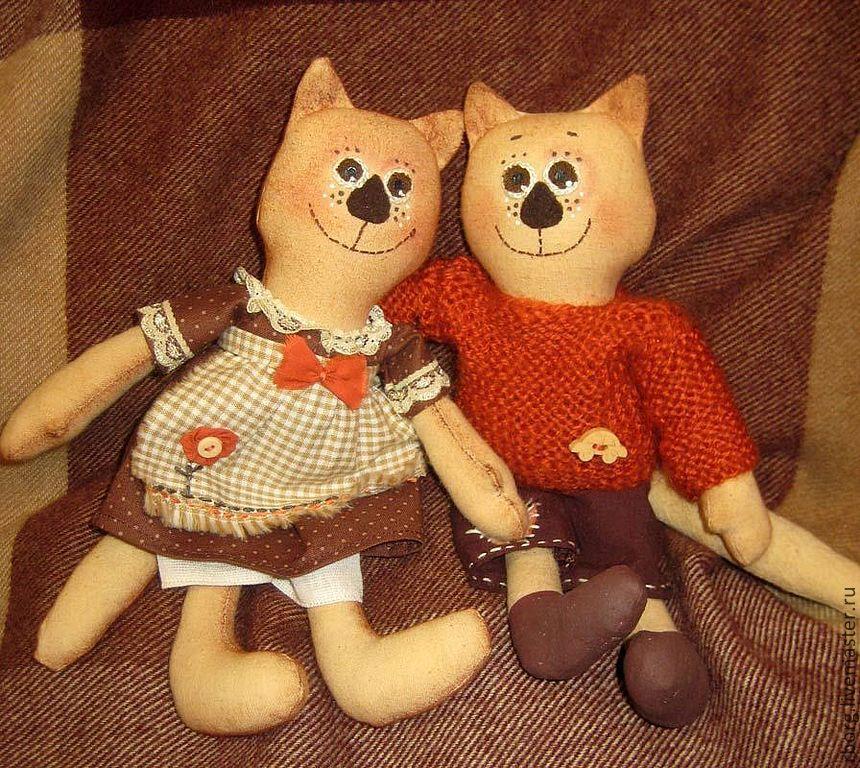 Кот, Мягкие игрушки, Иркутск,  Фото №1