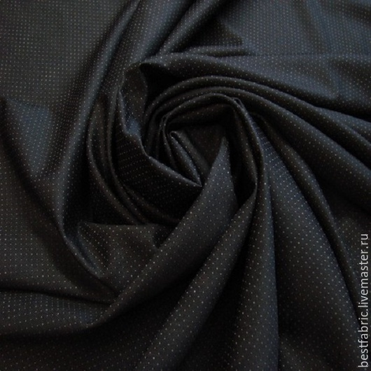 плат-костюмная `крапинка`  сток PAL ZILERI , Италия шерсть + шелк шир. 156 см цена 1600 р весенне-летнего ассортимента фон -темно-коричневый, крапинка -бежевая тонкая, легкая, нежная, пластична