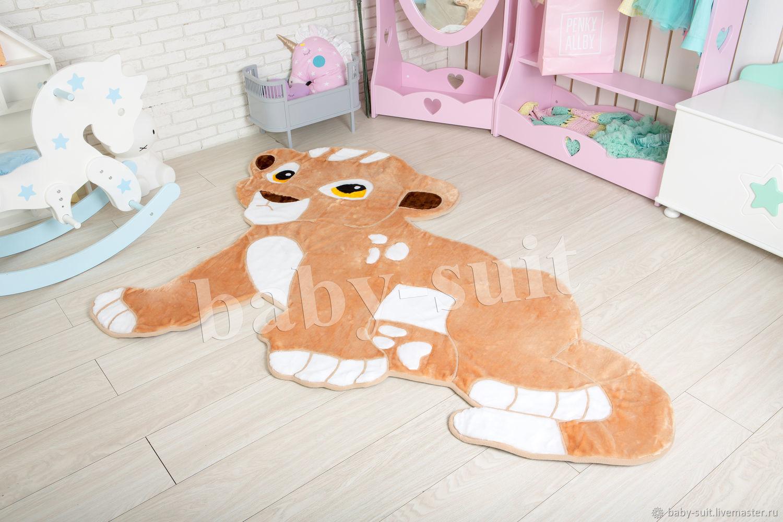 Детский коврик Львенок (симба король лев) для малышей и детей