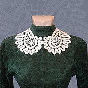 Аксессуары handmade. Livemaster - original item Rooster`s lace collar. Handmade.