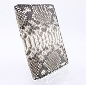 Канцелярские товары handmade. Livemaster - original item Passport cover from Python leather with additional offices IMP0402Z. Handmade.