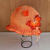 """Аксессуары handmade. Livemaster - original item Panama """"Butterflies"""" -1. Handmade."""