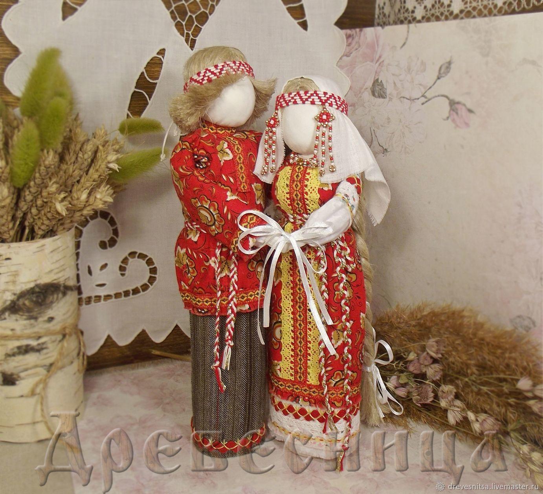 Куклы-обереги Неразлучники, Народная кукла, Саратов,  Фото №1