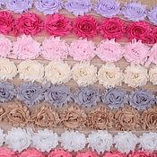 Кружево ручной работы. Ярмарка Мастеров - ручная работа Кружево: Лента с розочками шебби. Handmade.