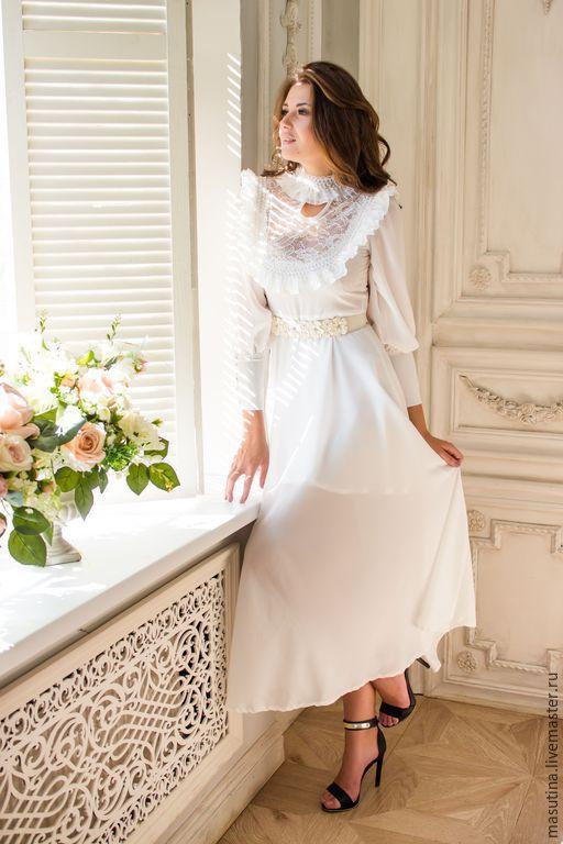 Вечерние Белые Платья На Свадьбу Купить