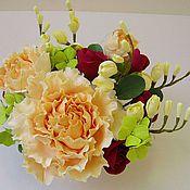 """Цветы и флористика ручной работы. Ярмарка Мастеров - ручная работа """"Версаль-мини"""", цветочная композиция. Handmade."""