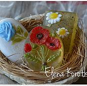 """Косметика ручной работы. Ярмарка Мастеров - ручная работа """"Любимые Цветы"""" Набор мыла ручной работы. Handmade."""