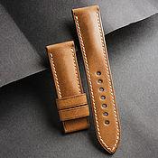 Украшения handmade. Livemaster - original item Calf leather watchband (02). Handmade.