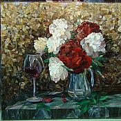 Для дома и интерьера ручной работы. Ярмарка Мастеров - ручная работа Мозаика из художественного стекла. Handmade.