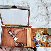 Подарки к праздникам ручной работы. Ярмарка Мастеров - ручная работа Этюдник на палец походный. Handmade.