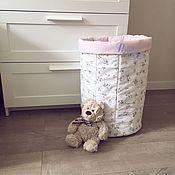 Хранение вещей ручной работы. Ярмарка Мастеров - ручная работа Текстильная корзина МАКСИ. Handmade.