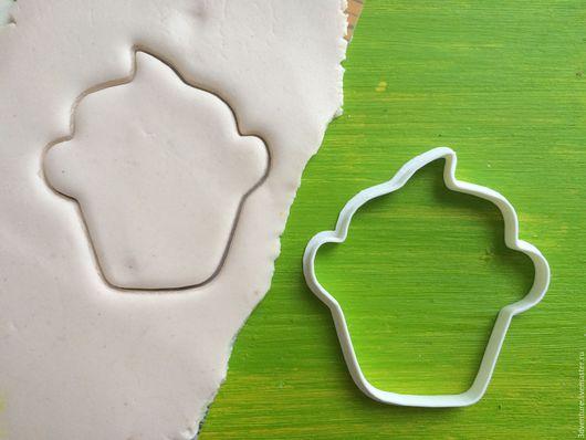 Кухня ручной работы. Ярмарка Мастеров - ручная работа. Купить Форма для печенья Капкейк. Handmade. Разноцветный, формочка для печенья