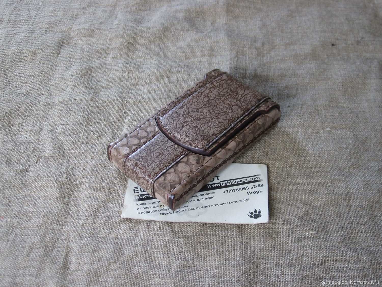 Cigarette case for thin (Slims) cigarettes. Case for cigarette pack, Cigarette cases, Yalta,  Фото №1