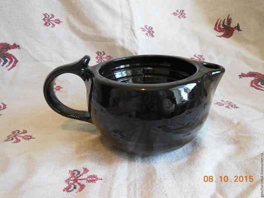 Банные принадлежности ручной работы. Ярмарка Мастеров - ручная работа. Купить Скаттл (чаша для бритья) - 3. Handmade. Черный