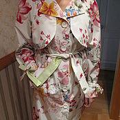 """Одежда ручной работы. Ярмарка Мастеров - ручная работа Плащ женский """"Цветь"""". Handmade."""