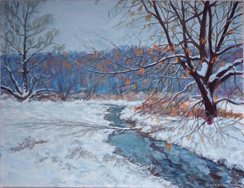 Зимние краски декабря, Картины, Иваново,  Фото №1