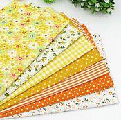 Набор тканей Желтый