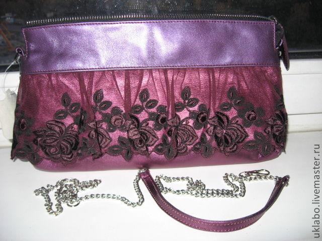 Чем декорировать сумочку из кожзама