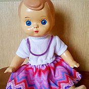 Винтаж ручной работы. Ярмарка Мастеров - ручная работа Платье  для куклы.. Handmade.