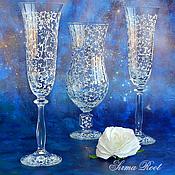 Свадебный салон ручной работы. Ярмарка Мастеров - ручная работа Свадебный набор Звездная Пара. Handmade.