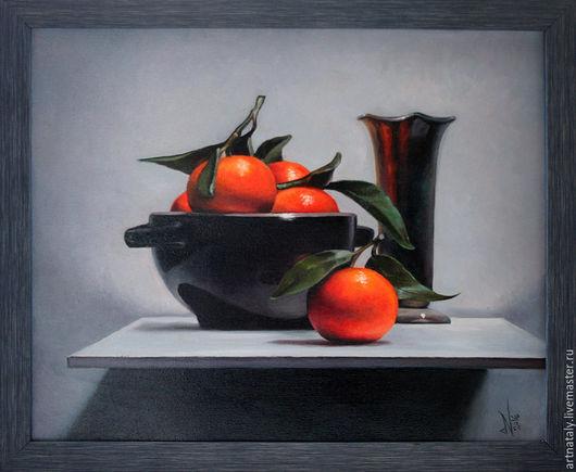Картина маслом `Клементины` (масло, холст 40х50) Автор: Ермакова Наталья (Nataly)