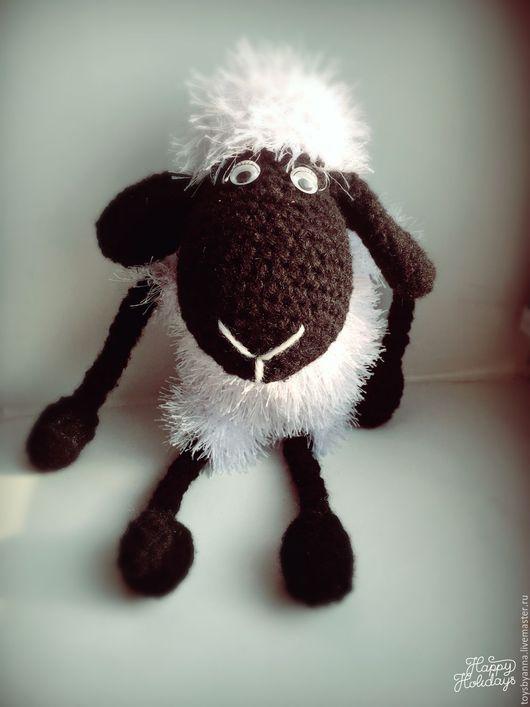 Игрушки животные, ручной работы. Ярмарка Мастеров - ручная работа. Купить Овечка. Handmade. Белый, овечка игрушка, детям