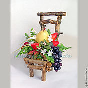 Для дома и интерьера ручной работы. Ярмарка Мастеров - ручная работа Интерьерный стульчик. Handmade.