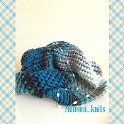 Аксессуары ручной работы. Ярмарка Мастеров - ручная работа шарф снуд Тучки небесные. Handmade.